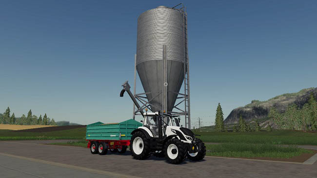 Мод Placeable AGRO sell store v1.4 для FS19 (1.3.x)
