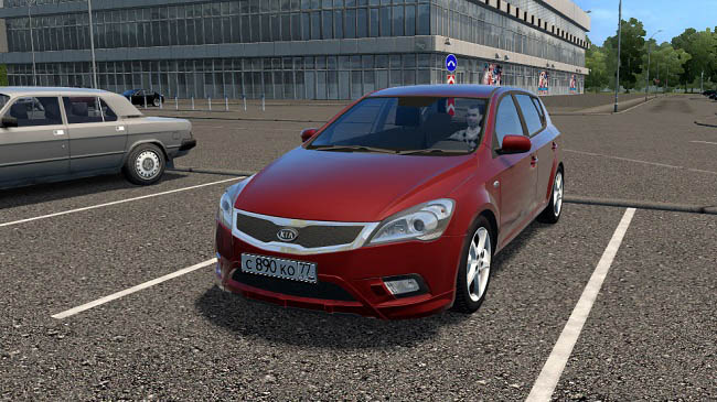 Мод Kia Ceed 2011 для City Car Driving (1.5.9)