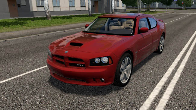 Мод Dodge Charger SRT-8 2006 для City Car Driving (1.5.9)