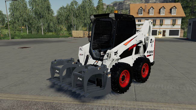 Мод CSM Bobcat 590 Series Skid Steer Pack v1.2.0 для FS19 (1.3.x)