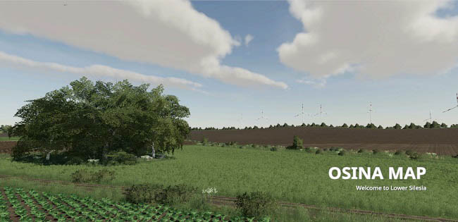 Карта Osina v1.0.0.1 для Farming Simulator 19 (1.4.x)