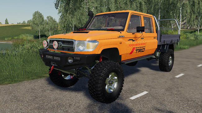 Мод Toyota Land Cruiser 70 v1.0 для FS19 (1.3.x)