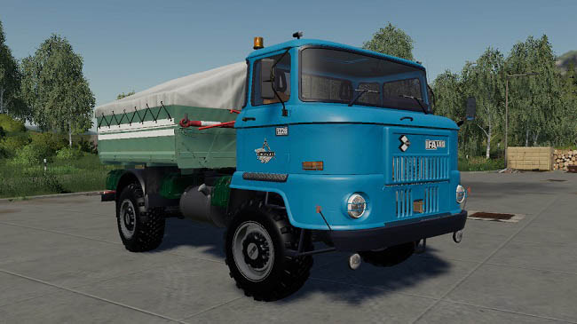 Мод IFA L60 swap body package v3.5 для FS19 (1.4.x)