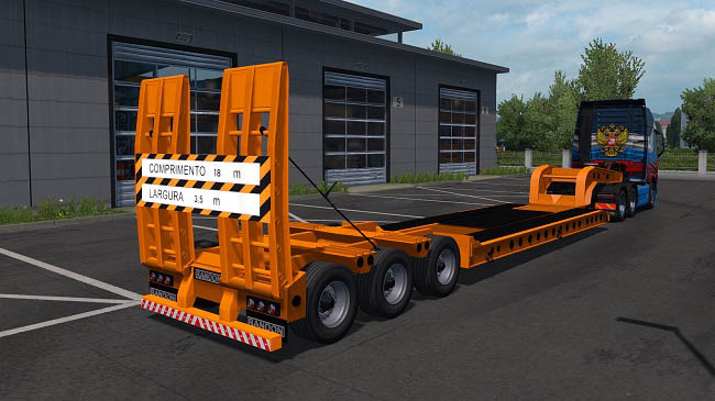 Мод Board Dolly Oversize v1.0 для ETS 2 (1.35.x)