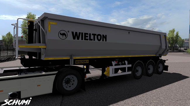 Мод railer Wielton Pack v1.1 для ETS 2 (1.35.x)