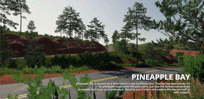 Карта Pineapple Bay v1.0.0.0 для FS19 (1.4.x)
