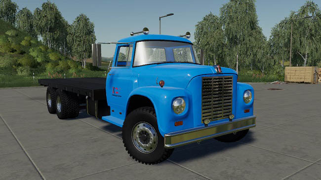 Мод International Loadstar F1800 Flatbed v1.0.0.0 для FS19 (1.4.x)