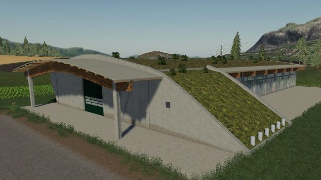 Мод RoofGreenHall v1.1.0.0 для FS19 (1.5.x)