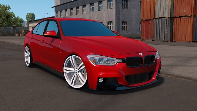 Мод BMW F30 M Package для ETS 2 (1.35.x)