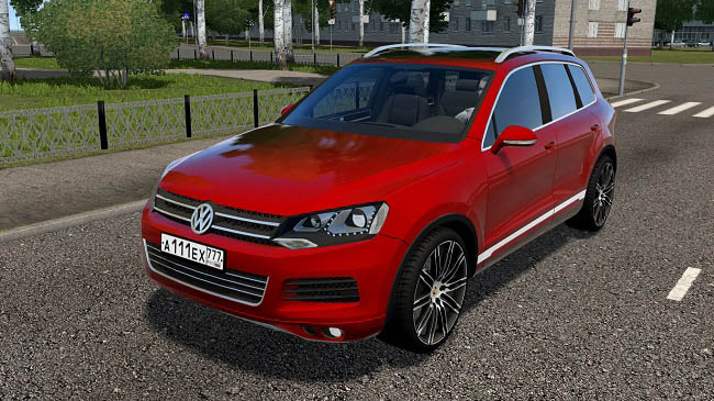 Мод Volkswagen Touareg для City Car Driving (1.5.8)