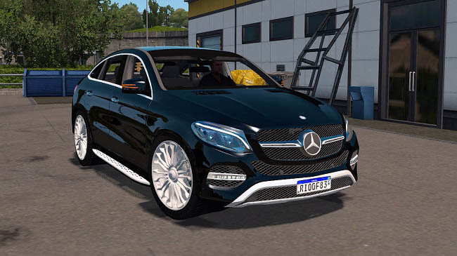 Мод Mercedes-Benz GLE 400 Beta для ETS 2 (1.35.x)