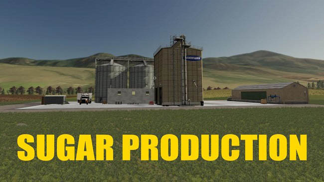 Мод Sugar Production Placeable v1.0.5 для FS19 (1.4.x)