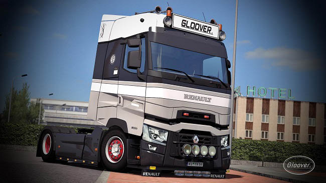 Мод Renault T Light Improvements/Lowered Chassis v1.4 для ETS 2 (1.35.x)