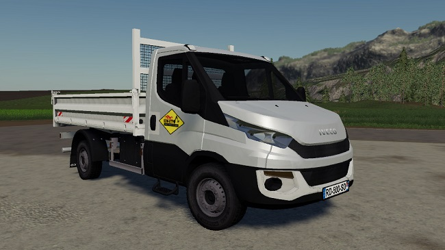 Мод Iveco Daily Benne SDM v1.0.0.0 Fixed для FS19 (1.4.x)
