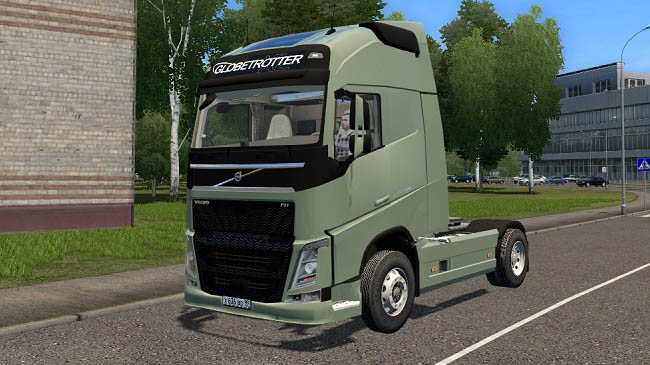 Мод 2014 Volvo FH для City Car Driving (1.5.9)
