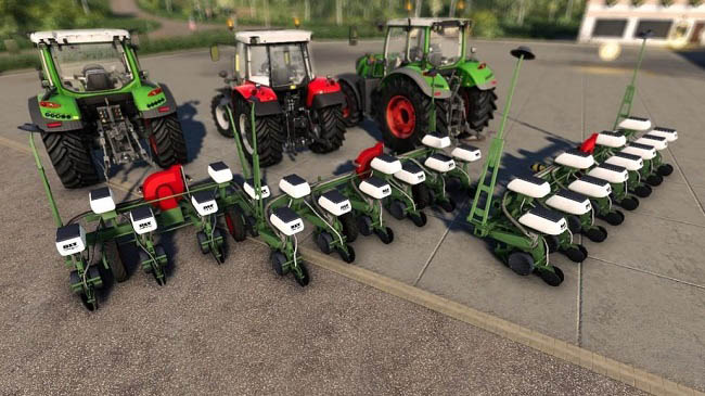 Мод Nodet Serial Hatching Machines v1.0 для FS19 (1.4.x)