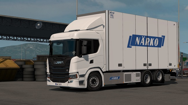 Мод Rigid Chassis Addon for Scania NG by Eugene v1.0 для ETS 2 (1.35.x)