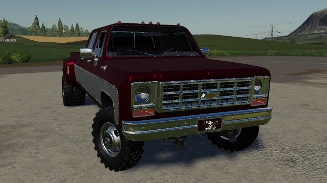 Мод Chevy 79 CrewCab v1.0 для FS19 (1.4.x)