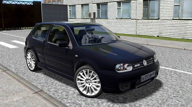 Мод VW GOLF R32 для City Car Driving (1.5.8)