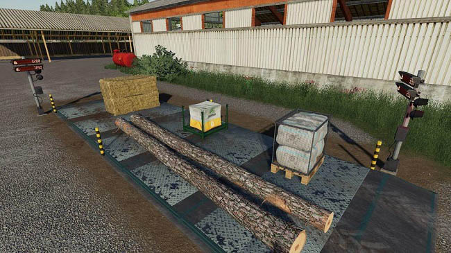 Мод Weigh Station v1.0.0.0 для FS19 (1.5.x)