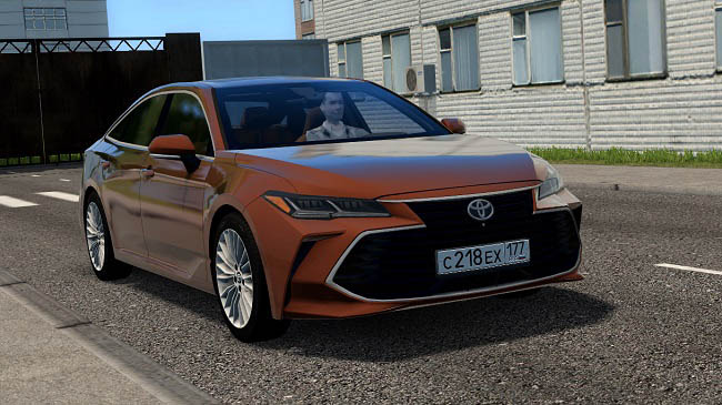 Мод Toyota Avalon 3.5 2019 для City Car Driving (1.5.9)