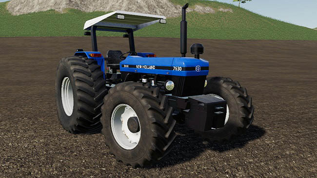 New Holland 7630 v1.0.0.0 для FS19 (1.5.x)