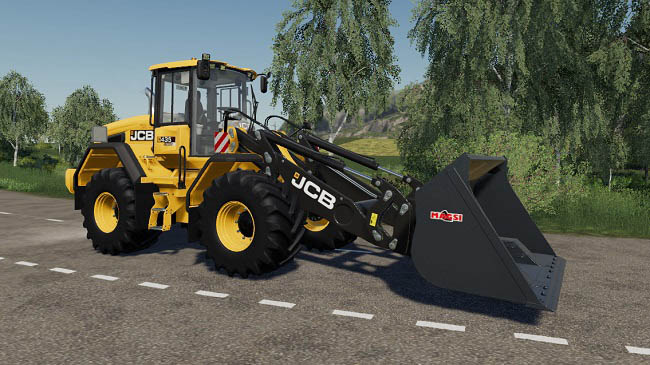 Мод JCB 435S Stage IV And V v1.0.0.1 для FS19 (1.5.x)