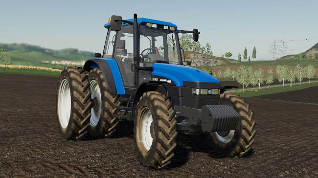 Мод New Holland TM/60 Series U.S. v2.0 для FS19 (1.5.x)