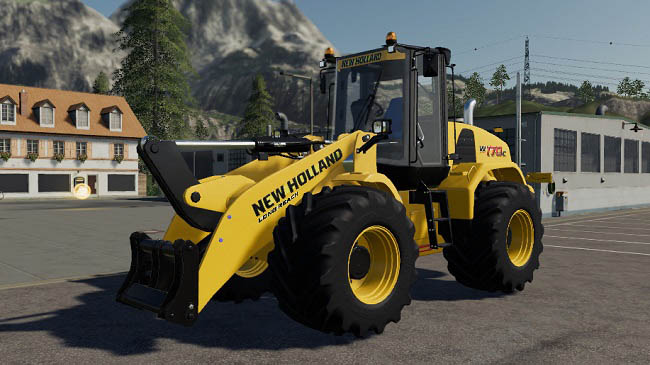 Мод New Holland W170C v1.2 для FS19 (1.5.x)