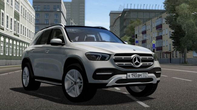 Мод 2020 Mercedes-Benz GLE для City Car Driving (1.5.9)