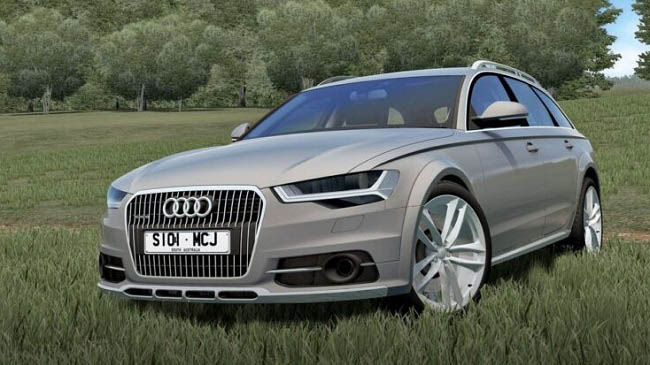 Мод 2015 Audi A6 Allroad для City Car Driving (1.5.9)