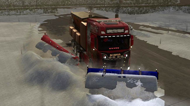 Мод Scania NG Snowready v2.0 для FS19 (1.5.x)