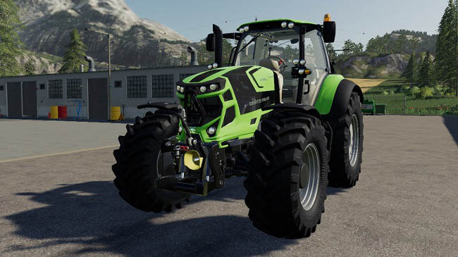 Мод Deutz 7 Series TTV v1.0 для FS19 (1.5.x)