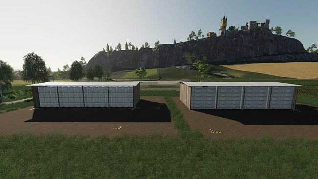 Мод Big Bale Storage Pack v1.0.0.0 для FS19 (1.5.x)