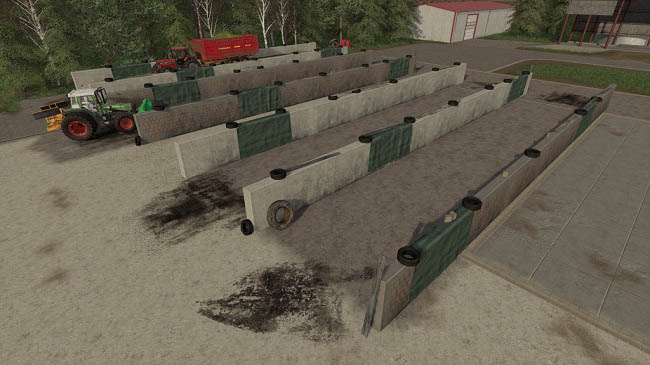 Мод Small Bunker Silo Set v1.0.0.0 для FS19 (1.5.x)
