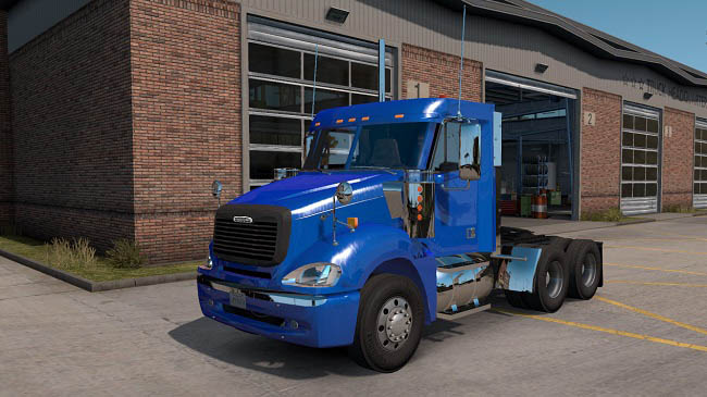 Мод Freightliner Columbia Day Cab для ATS (1.36.x)